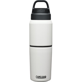 CamelBak MultiBev Edelstahl Vakuumisolierte Flasche 500ml weiß